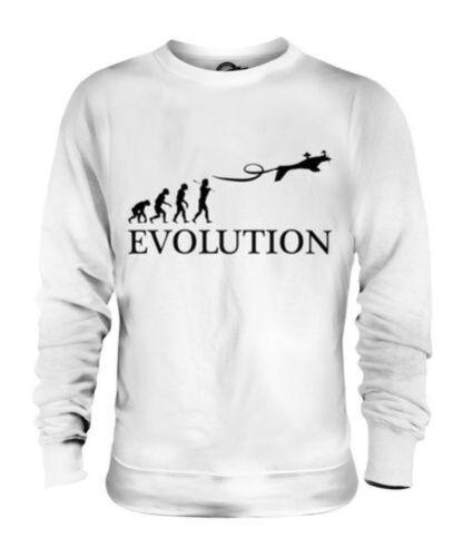 Uomo Evoluzione Donna Regalo Idea Aeree Acrobazie Umana Maglione Unisex O6qxz