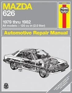 haynes manuals mazda 626 1979 thru 1982 no 648 by john haynes and rh ebay com Mazda 626 Engine Parts Mazda 626 Parts Diagram
