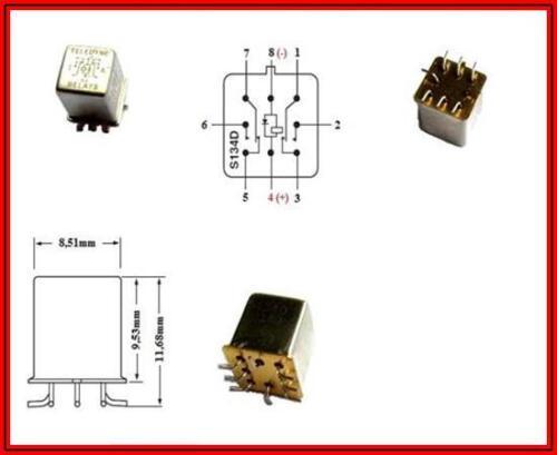Relè 26-40v con diodo interna per bobine di protezione dalle sovratensioni 2 x 1 per pezzo