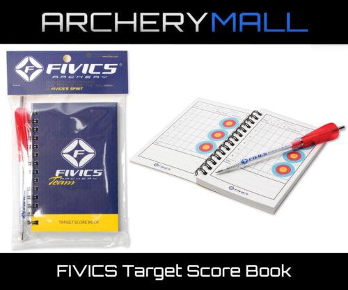 Fivics Tir à L/'Arc Target Score Book