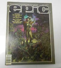 1983 EPIC ILLUSTRATED #20 George Pratt Kent Williams Jon J Muth VF-