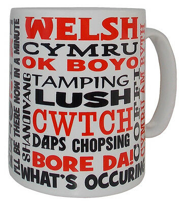 Welsh Dialect Mug