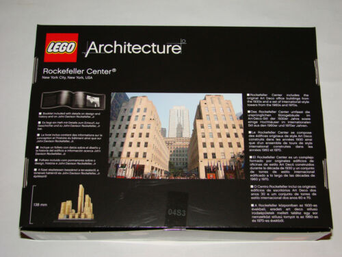 LEGO® Architecture 21007 Rockefeller Center NEU OVP NEW MISB NRFB to 21011 21019