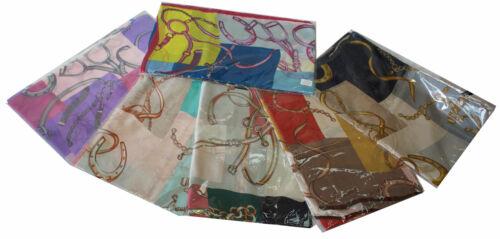 Damen Schal Rundschal Versace Muster Bedruckt Halstuch XXL Poncho pareo Lang