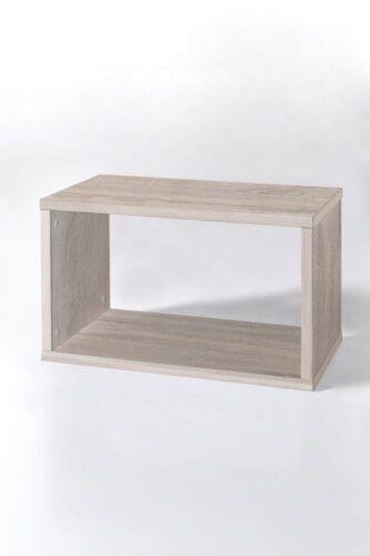 """Regal /""""Adelheid 2/"""" Rechteck-Form Sonoma Eiche Dekor 55 x 35 x 32,5 cm"""