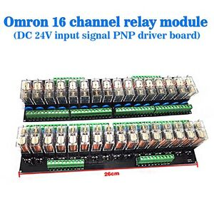 16 Relay Module Sixteenth Street Dashboard Driver Board Socket DC 24V PNP USA