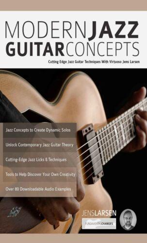 Audio Modern Jazz Guitar Concepts