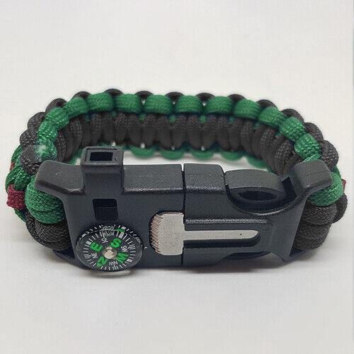 Badged Survival Bracelet Tactical Edge. QLR Queens Lancashire Regiment