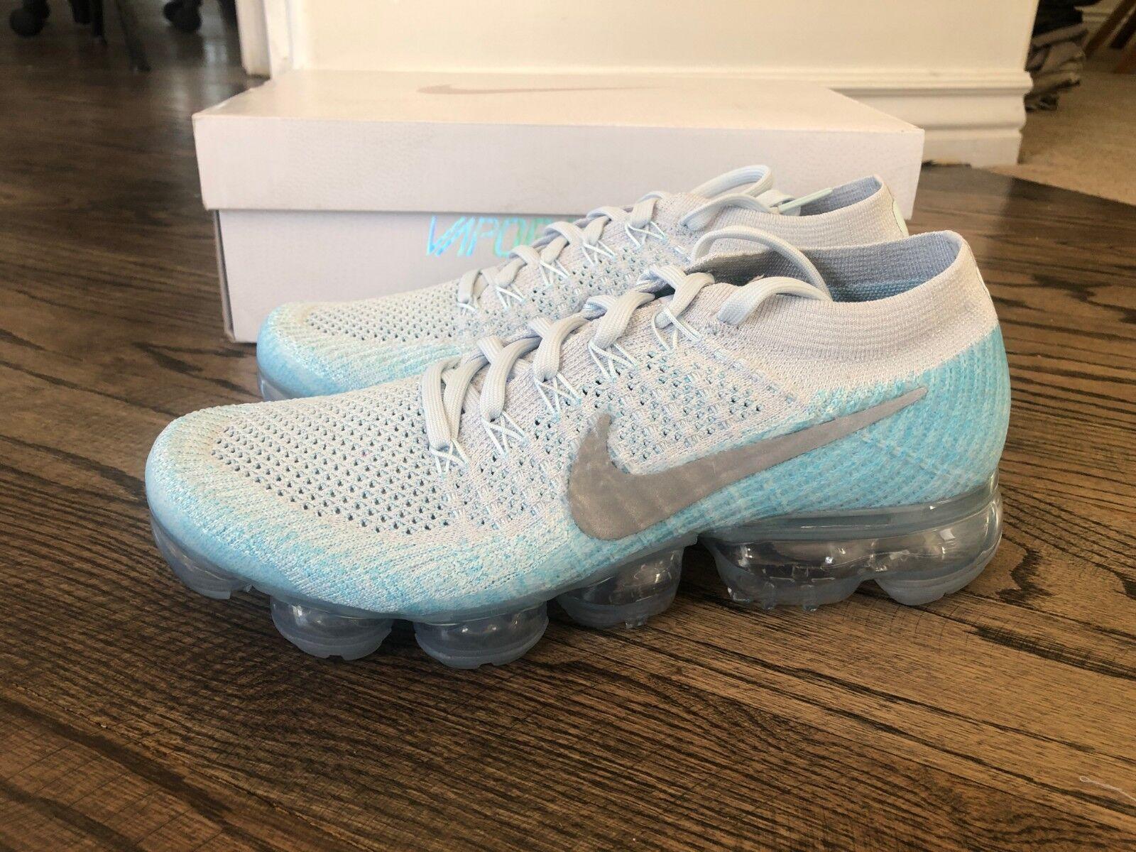 sneakers for cheap ec2f6 d1232 Nike air vapormax donne flyknit di puro platino platino platino silver  849557 014 sz 8,