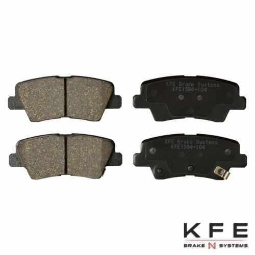 Ceramic Disc Brake Pad REAR Set Fits Hyundai Elantra GT KIA Forte Koup Soul 1594