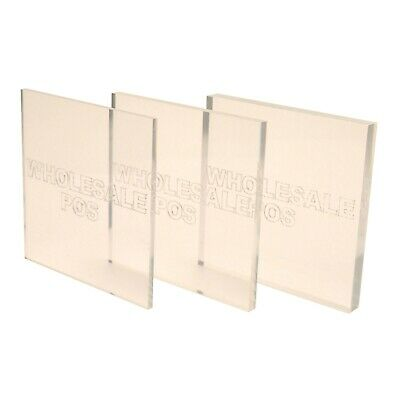 PERSPEX ROD 6mm DIAMETER SELECT LENGTH CLEAR ACRYLIC