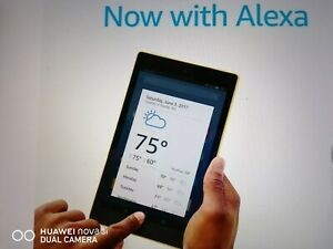 """All-New Fire HD 8 Tablet with Alexa, 8"""" HD Display, 16 GB, Marine Blue - with..."""