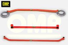 OMP TRIPLE STRUT BRACE SET VW GOLF MK2 1.8 GTi 16v