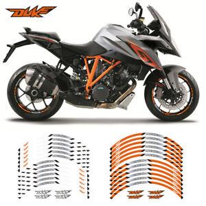 MOTORCYCLE-RIM-034-17-STRIPES-WHEEL-DECALS-STICKERS-FOR-KTM-DUKE