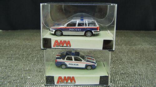 AWM 72031 72030  Polizei Policia VW Polo VW Passat H0 1:87 BS91 BS92