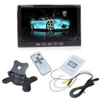 "7"" Color TFT LCD Car Monitor LED Backlight Display For DVD VCD Rearview Camera"