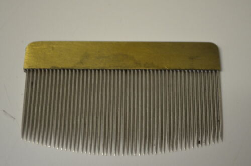 Weberkämmchen aus Metall B 63mm Nr 163
