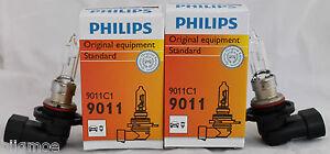 Philips-9011-C1-X-2-Bulbs-65-Watt-Luz-de-Cruce-Halogeno-Oem-12V-Lampara-HIR1