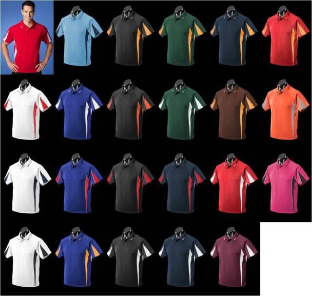 Eureka,Mens,1304,Polo Shirt,Teamwear,Sport,Club,Racing,Netball,Bowls,Football