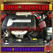 RED AIR INTAKE KIT FOR 2003-2008/03-08 HYUNDAI TIBURON GT/SE/GTP 2.7 2.7L V6