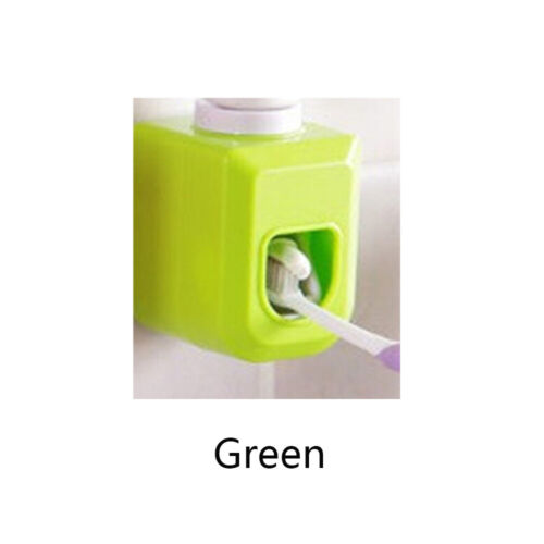 Dispenser Toothbrush Holder Extrusion Mouthpiece Pressing Device Automatic