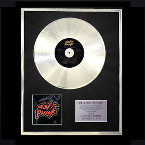DAFT-PUNK-HOMEWORK-CD-PLATINUM-DISC-LP-FREE-P-P
