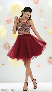 HOMECOMING ONE PIECE SEMI FORMAL DANCE PROM SHORT DEMURE SWEET 16 ... 07f0a0319