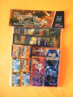 220teile Monster Pack Halloween Jugendfrei Sortiment