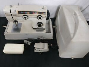 LABELLA ULTRA NELCO SEWING MACHINE WITH CASE (TESTED & OPERATIONAL)