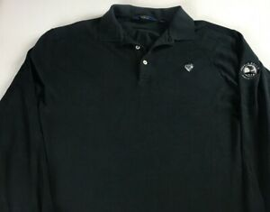 Polo-Golf-Ralph-Lauren-Long-Sleeve-Shirt-Mens-Large-Pebble-Beach-Crest-Club-Guys