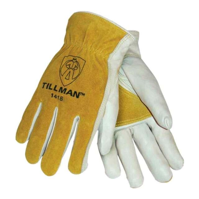 Tillman 1464 Top Grain Cowhide//Split Drivers Gloves Large
