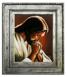 Religion-Jesus-Christ-God-Divine-Oil-Painting-Picture-Oil-Frame-Pictures-G93995