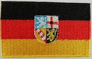 Saarland-Aufnaeher-gestickt-Flagge-Fahne-Patch-Aufbuegler-6-5cm-neu