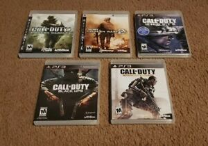 Lot-of-5-Call-of-Duty-PS3-Games-Modern-Warfare-Black-Ops-Ghosts-Advanced-CIB