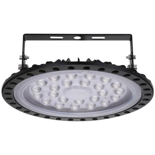 100W UFO LED Light High Bay 6500K Warehouse Industrial Lighting Lamp AC 110V