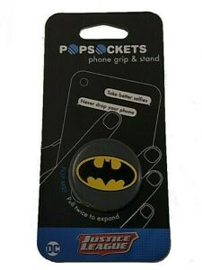 PopSockets Collapsible Grip /& Stand for Phones and Tablets Batman Icon