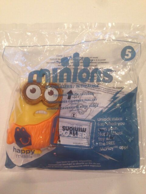 Mcdonalds 2015 Minions Talking Martial Art #4  Happy Meal USA Release New Sealed