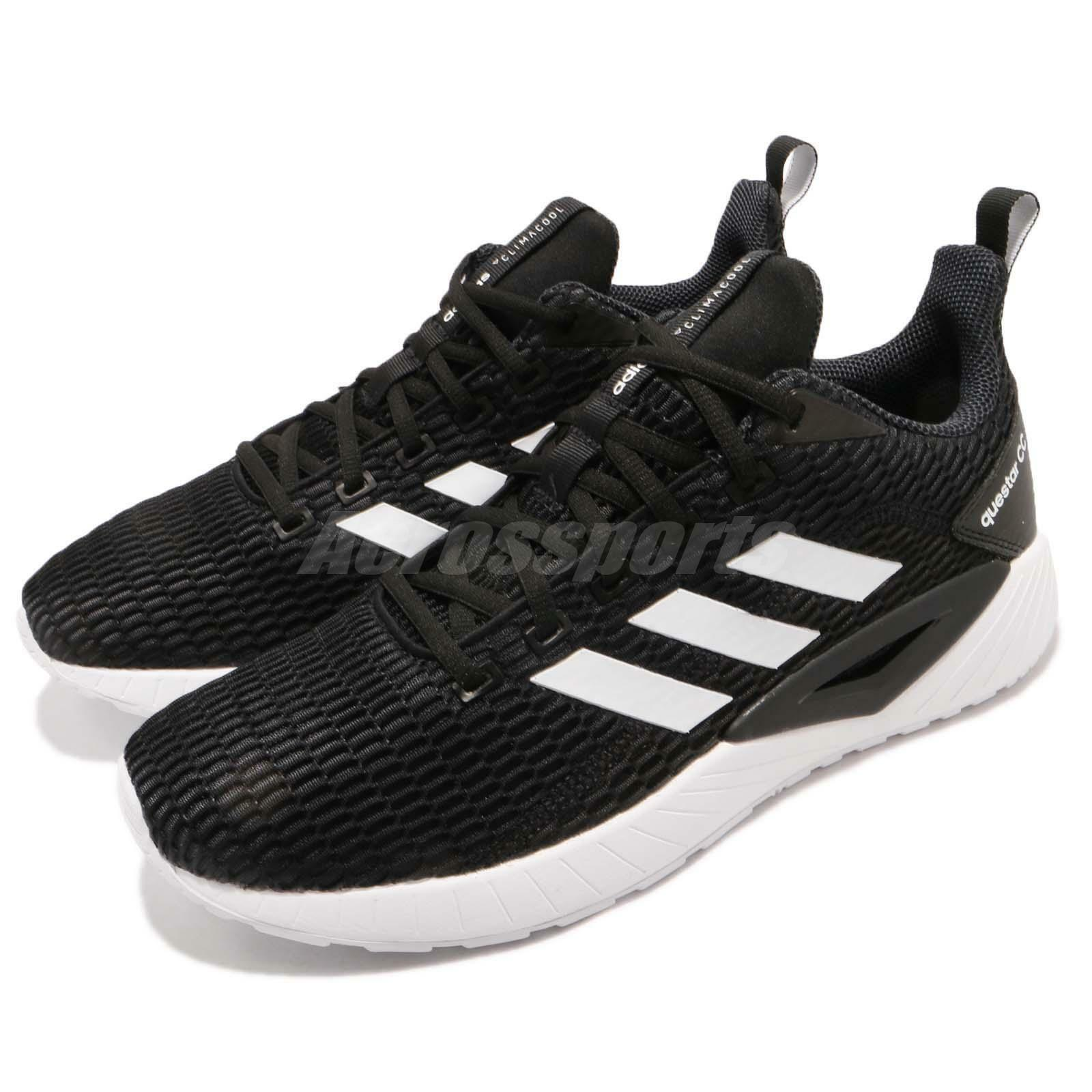Adidas Questar CC Core Blcke Footwear blanco Men Running zapatos zapatillas DB1159
