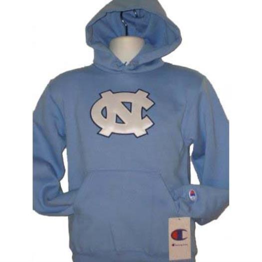 Champion Men`s Hooded Sweatshirt North Carolina - Light Blau