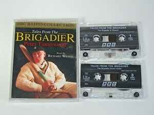 2-x-CRICKET-Audio-Book-Cassette-Tales-from-the-Brigadier-Evening-with-Johnners