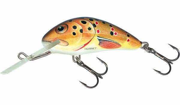Salmo Hornet PSA-3S 3,5cm 1-3//8inch 2,6g sinking crankbait Bass Chub Trout Lure