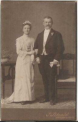 CAB photo Feines Paar - Brandenburg 1900er