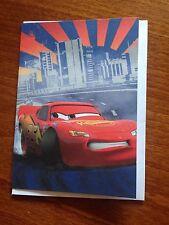 Disney's Cars - Lightning McQueen Themed Blank Greeting Card - NEW
