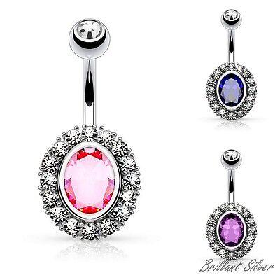 ring rosa hanteln heiß kristallkugel bauchnabel piercing leiche schmuck nabel