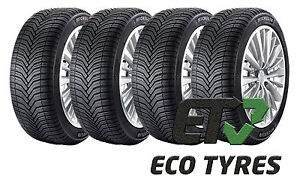 4x tyres 205 55 r16 94v xl michelin crossclimate all. Black Bedroom Furniture Sets. Home Design Ideas