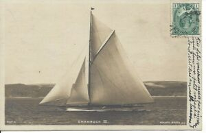1905-Shamrock-111-Yacht-U-K-Rotary-Press-Used-in-Canada-20-64