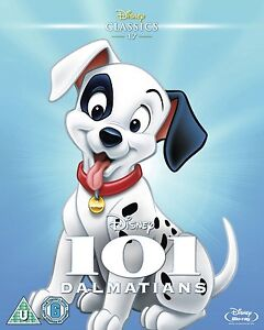 101 dalmatians blu ray 1961 classic disney animated movie