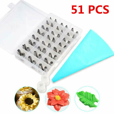 Cake Decorating Supplies Kit for Beginners 51 PCS Baking ...