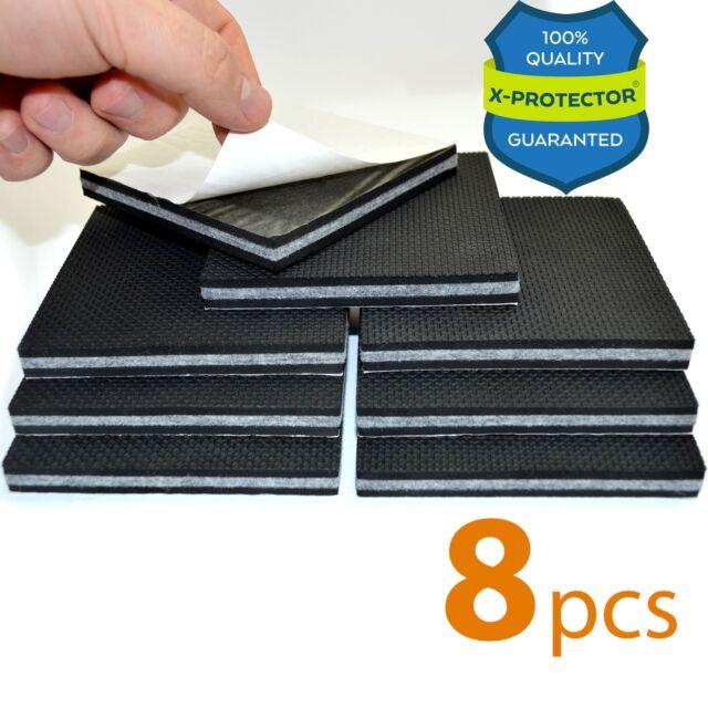 Non Slip Furniture Pads X Protector Premium 8 Pcs 4 Pad