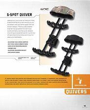 Trophy Ridge AQ600 Realtree Xtra 5 Spot Bow Quiver